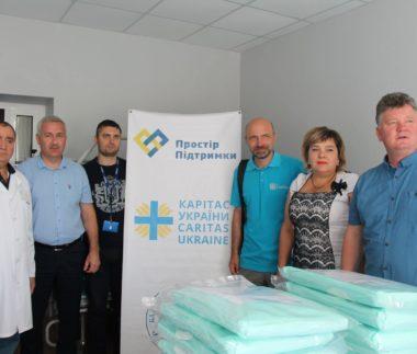 8_2019_vybavení do nemocnice_Charita Mariupol